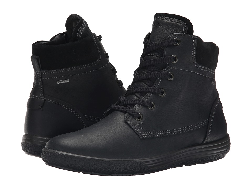 ECCO - Chase II GORE-TEX Boot (Black/Black) Women's Lace-up Boots