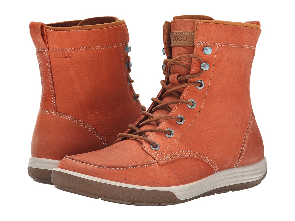 ECCO - Chase II Boot (Picante/Whiskey/Amber) Women