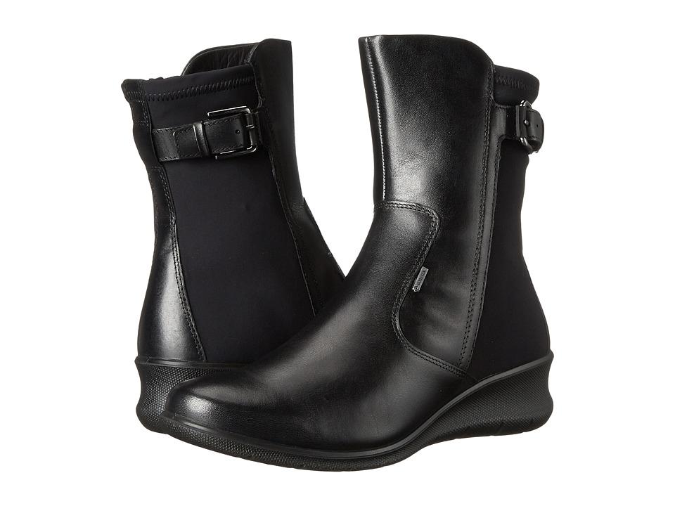 ECCO - Babett 45 GORE-TEX Bootie (Black/Black) Women's Boots
