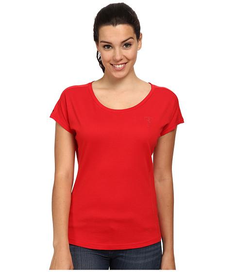 PUMA - Ferrari Small Sheild Tee (Rosso Corsa) Women's T Shirt