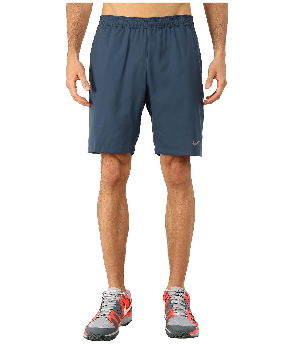 Nike - Court 9 Short (Squadron Blue/Tumbled Grey/Tumbled Grey/Black) Men's Shorts