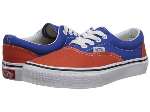 Vans Kids - Era (Little Kid/Big Kid) ((Golden Coast) Olympian Blue/Burnt Ochre) Boys Shoes