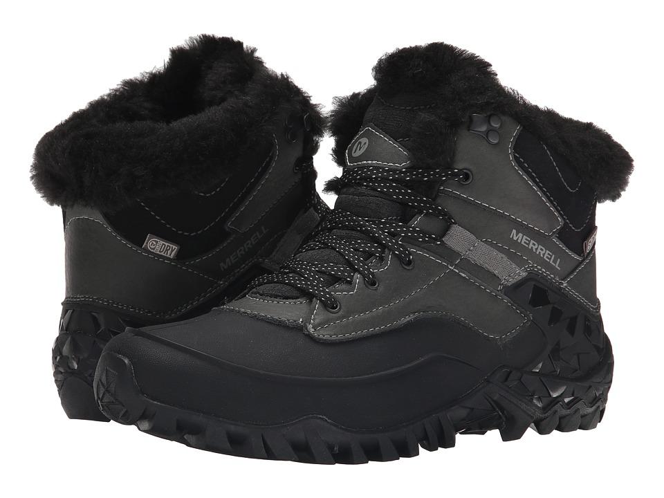 Merrell Fluorecein Shell 6 (Black) Women's Hiking Boots