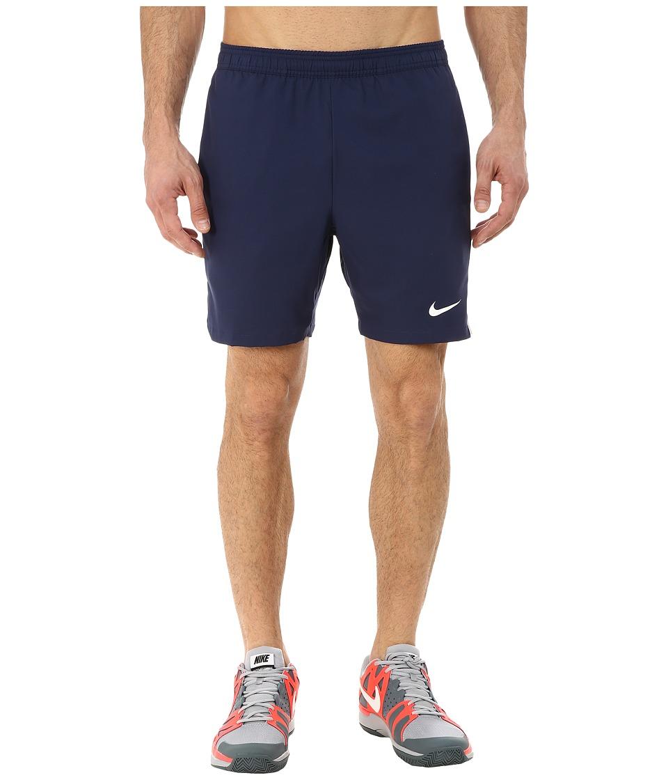Nike - Court 7 Shorts (Midnight Navy/White/Midnight Navy/White) Men's Shorts