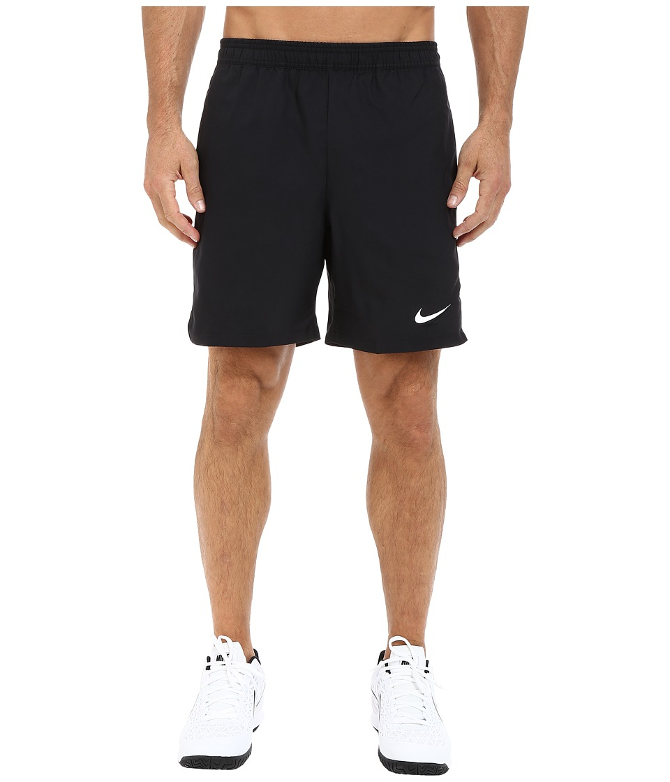 Nike - Court 7 Shorts (Black/White/Black/White) Men's Shorts