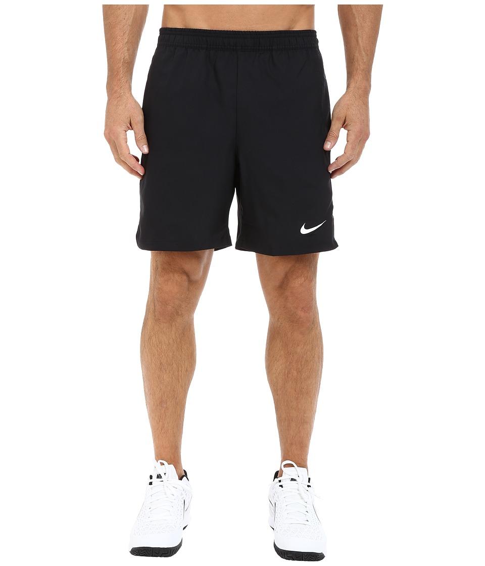 Nike - Court 7 Shorts (Black/White/Black/White) Men's Shorts
