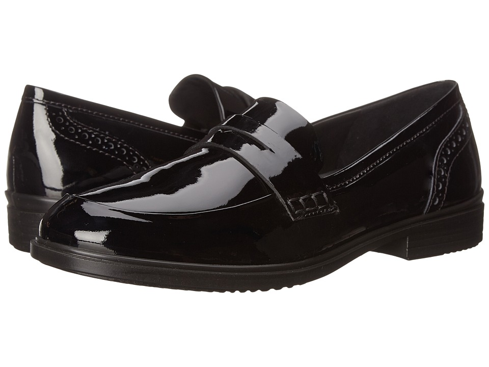 ECCO - Touch 15 Slip-On (Black) Women's Slip on Shoes