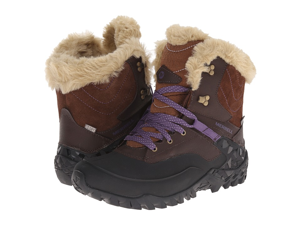 Merrell - Fluorecein Shell 8 (Chocolate Brown) Women's Hiking Boots