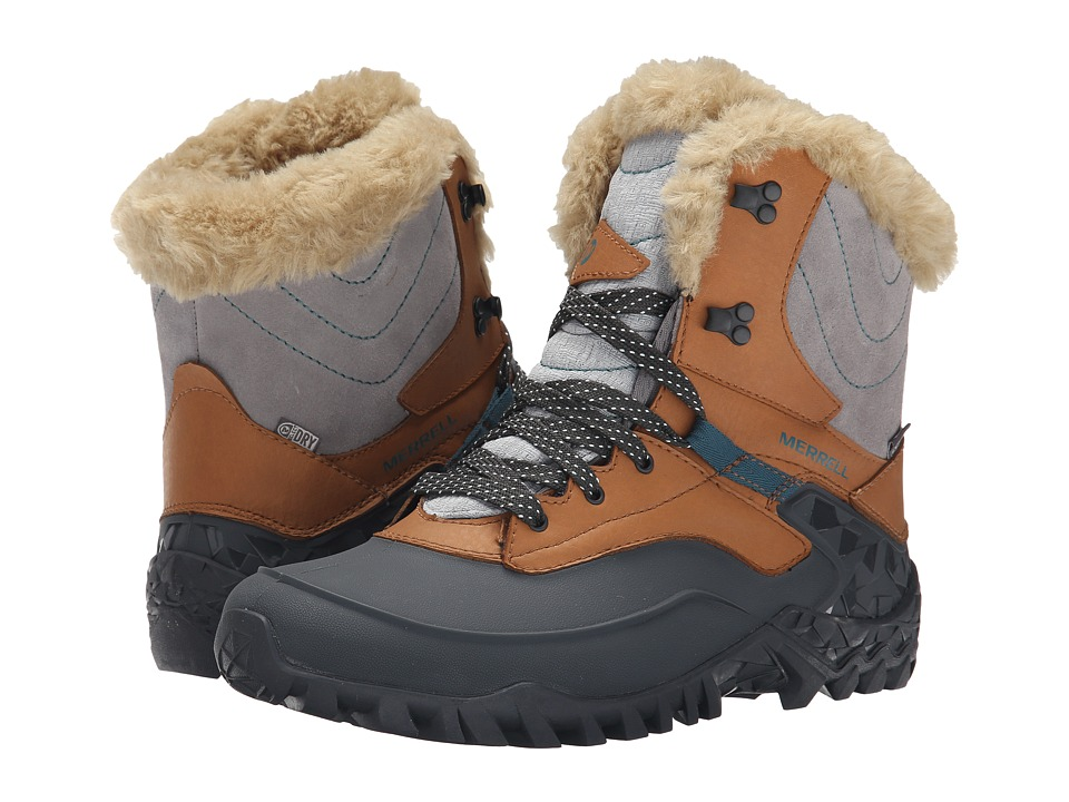 Merrell - Fluorecein Shell 8 (Brown Sugar) Women's Hiking Boots