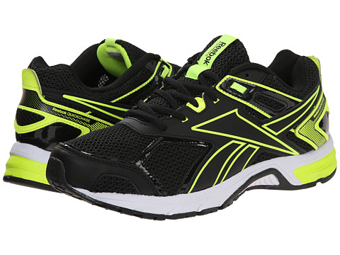 Reebok - Quick Chase (Black/Solar Yellow/White) Men