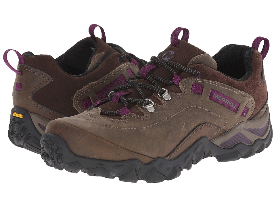 Merrell - Chameleon Shift Traveler (Olive) Women's Lace up casual Shoes