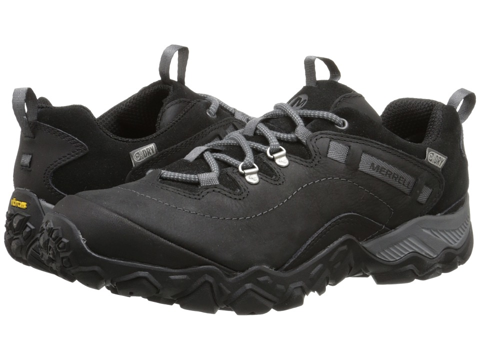 Merrell - Chameleon Shift Traveler Waterproof (Black) Women's Lace up casual Shoes