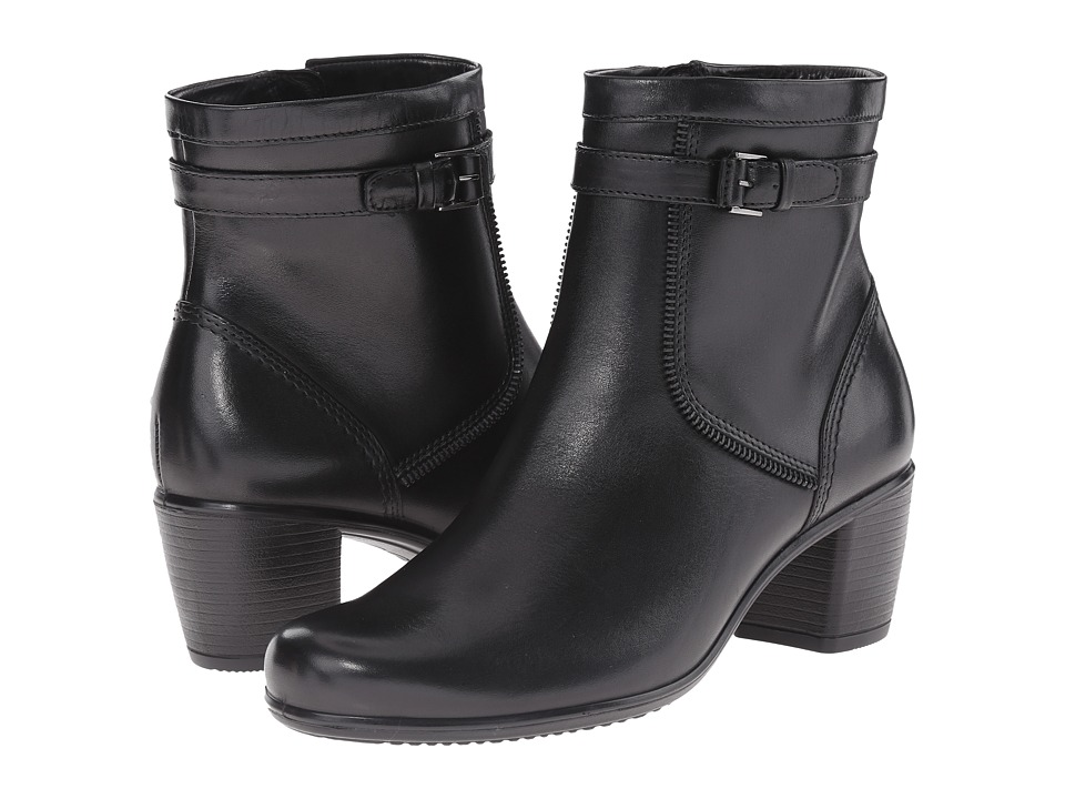 ECCO - Touch 55 Bootie (Black) Women's Boots