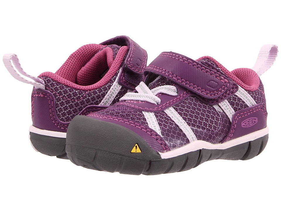 Keen Kids - Monica CNX (Toddler) (Wineberry/Lavender Fog) Girls Shoes