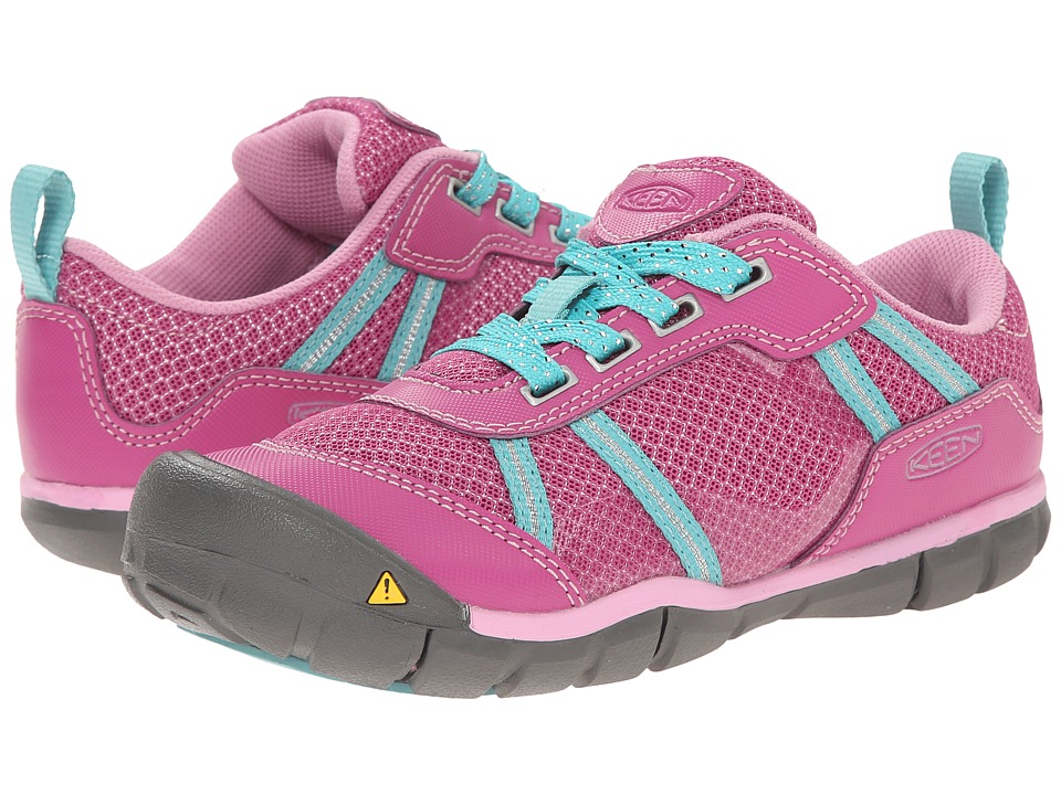 Keen Kids - Monica CNX (Little Kid/Big Kid) (Dahlia Mauve/Lagoon) Girls Shoes