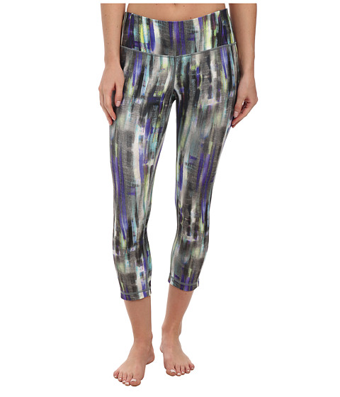 MPG Sport - Dare (Watercolour Stripe Print) Women's Capri