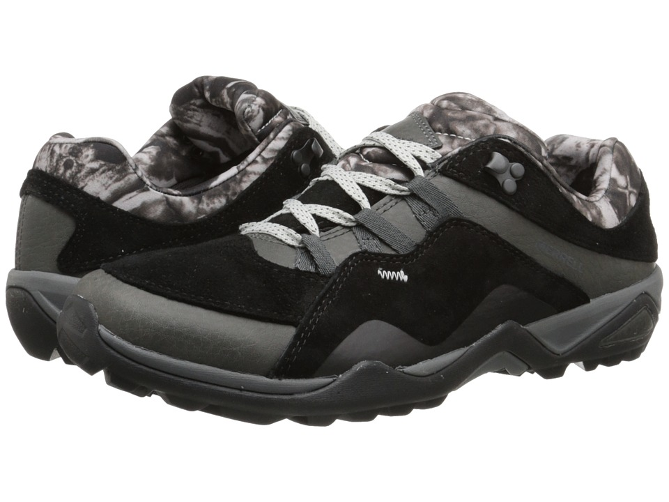 Merrell - Fluorecein (Black) Women's Lace up casual Shoes