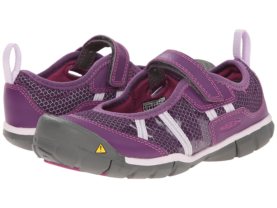 Keen Kids - Monica MJ CNX (Little Kid/Big Kid) (Wineberry/Lavender) Girls Shoes