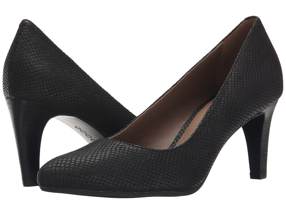 ECCO - Alicante Pump (Black) High Heels