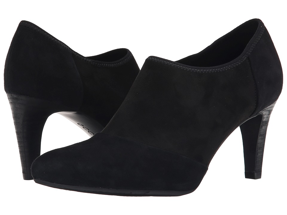 ECCO - Alicante Shootie (Black/Black) High Heels