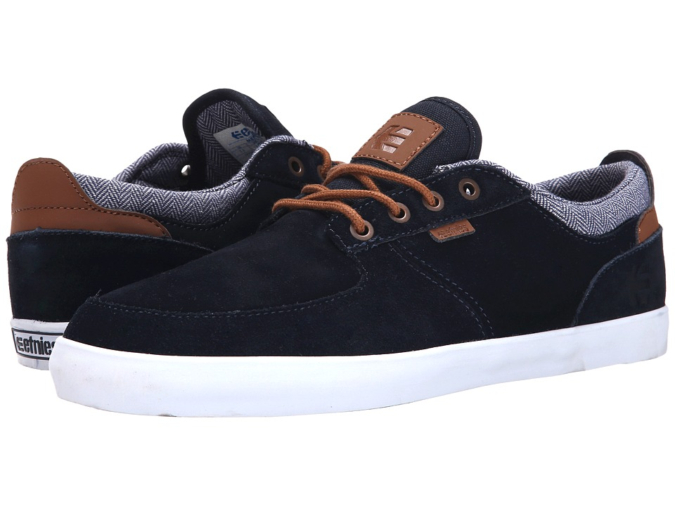 etnies - Hitch (Navy) Men's Skate Shoes