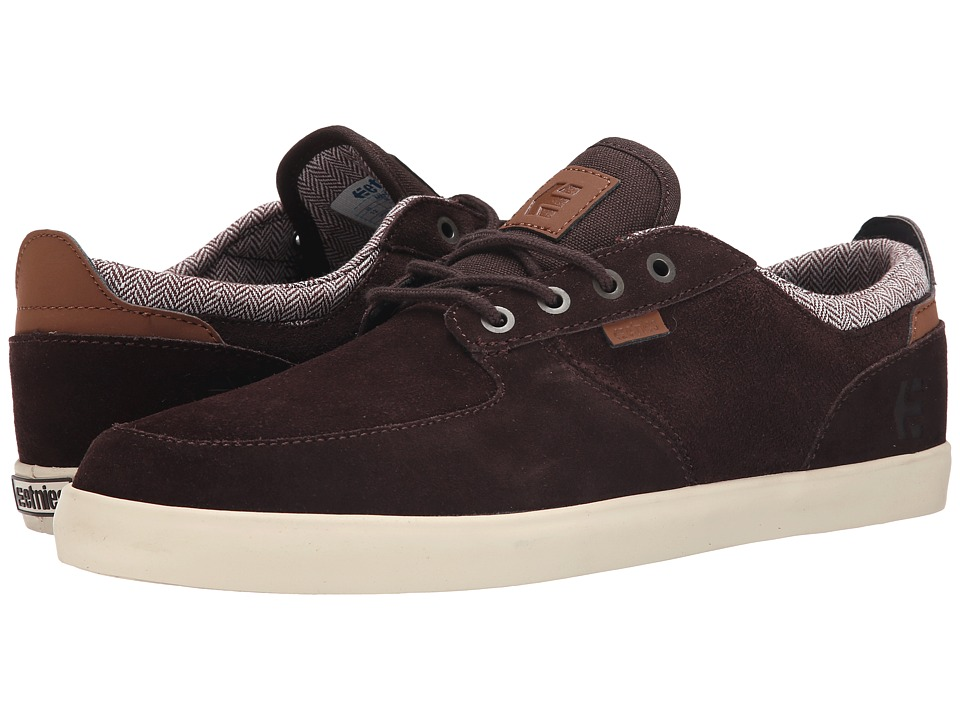 etnies - Hitch (Dark Brown) Men's Skate Shoes