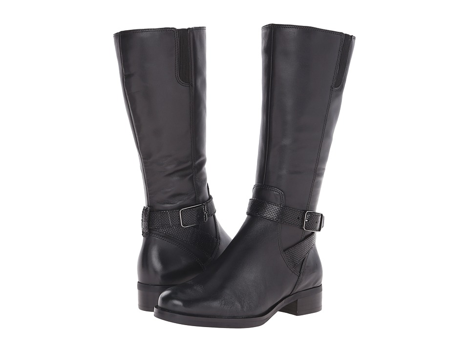 ECCO Adel Mid Boot (Black/Black) Women