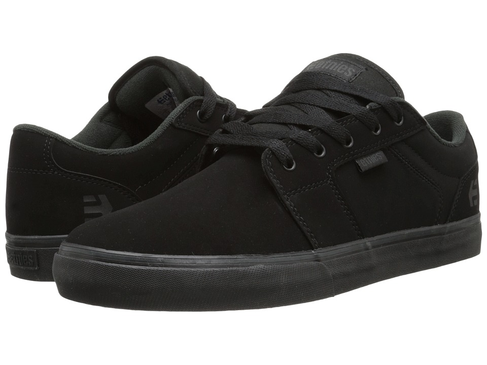 etnies - Barge LS (Black/Black) Men