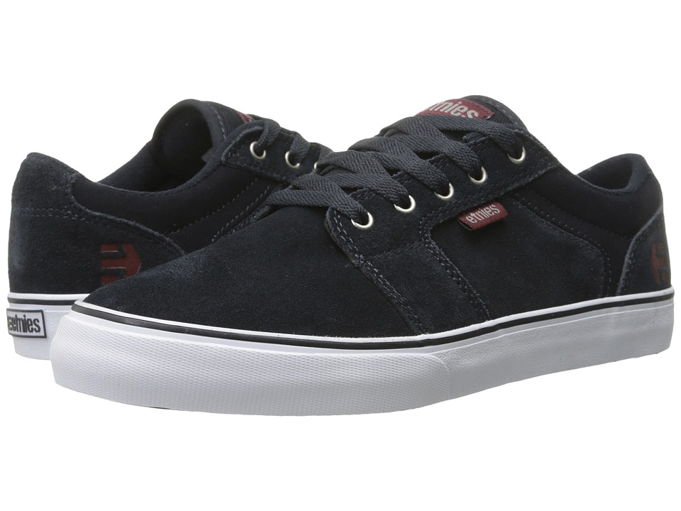 etnies - Barge LS (Dark Navy) Men's Skate Shoes