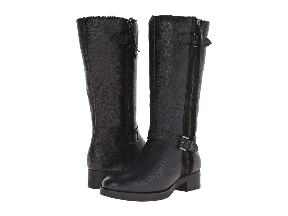 ECCO - Alta Tall Boot (Black/Black) Women