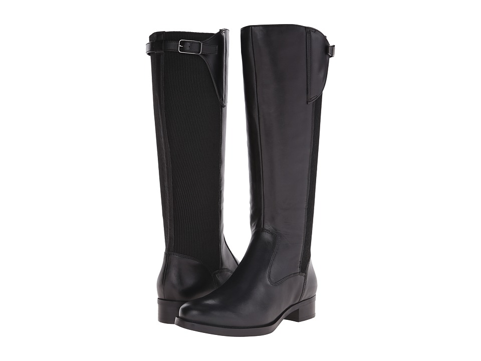 ECCO Adel Tall Boot (Black/Black) Women