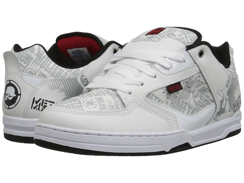 etnies - Metal Mulisha Cartel (White/Black/Red) Men