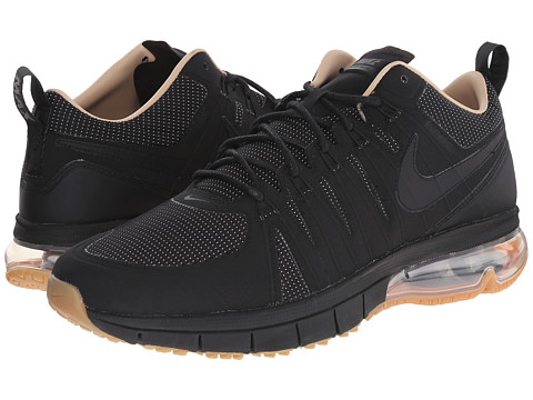 Nike - Air Max TR180 AMP (Black/Black/Gum Medium Brown) Men's Shoes