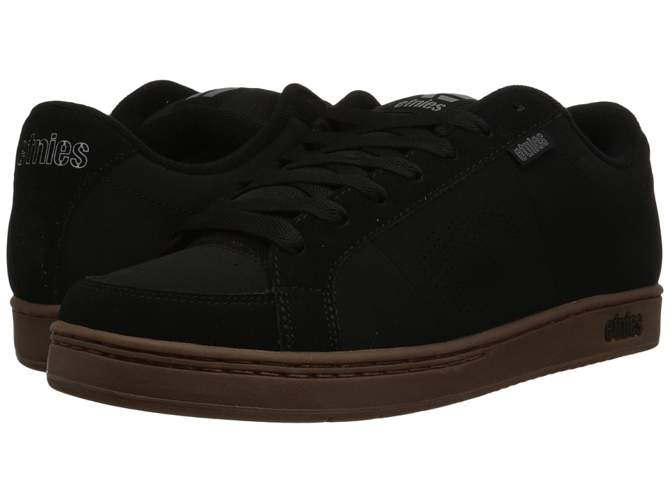 etnies - Kingpin (Black/Gum) Men's Skate Shoes