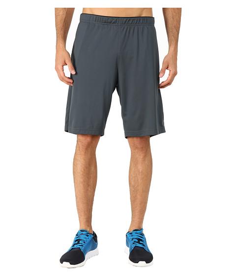 Reebok - Workout Ready Poly Train Shorts (Graphite) Men's Shorts