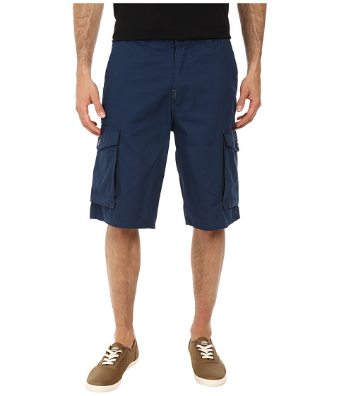 L-R-G - RC Classic Cargo Shorts (Nautical Blue) Men's Shorts