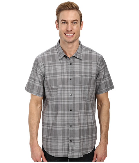 Calvin Klein - Yarn Dye End On End Plaid (Carbon) Men's Clothing