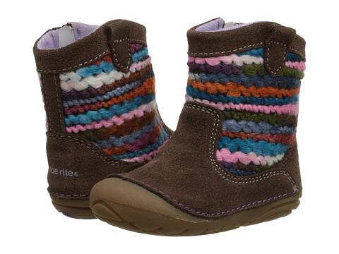 Stride Rite - SM Quinn (Infant/Toddler) (Brown/Multi) Girls Shoes