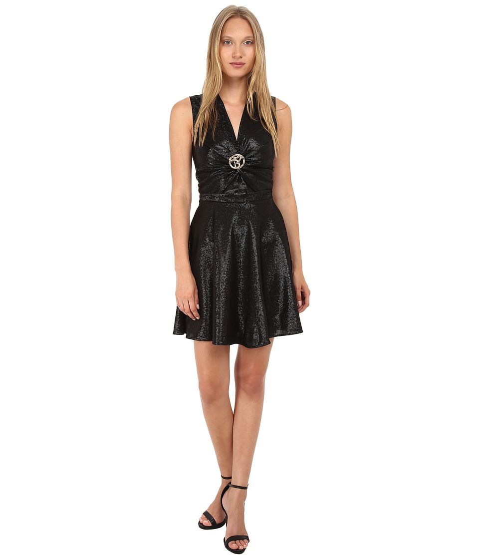 Just Cavalli - Cocktail Dress w/ Hardware (Black) Women's Dress