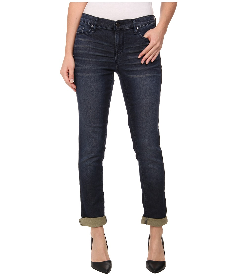 DKNY Jeans - Knit Boyfriend Jeans in Flex Wash (Flex Wash) Women