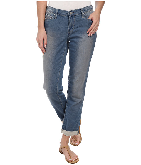 DKNY Jeans - Knit Boyfriend Jeans in Strength Wash (Strength Wash) Women's Jeans