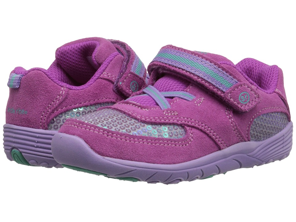 Stride Rite - SRT Kelsey (Toddler) (Pink/Berry) Girl's Shoes