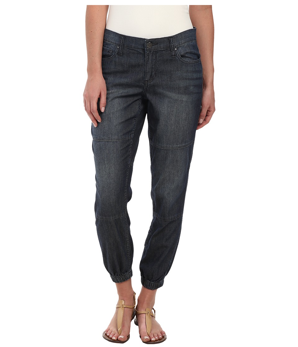 DKNY Jeans - Relaxed Jogger Light Weight Denim in Sheer Wash (Sheer Wash) Women's Jeans