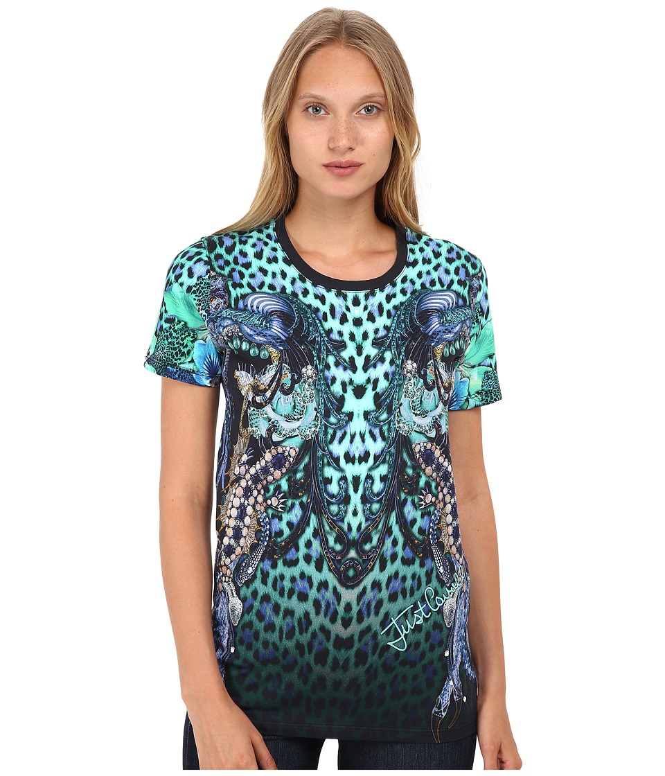 Just Cavalli - Printed T-Shirt (Creek Variant) Women's T Shirt