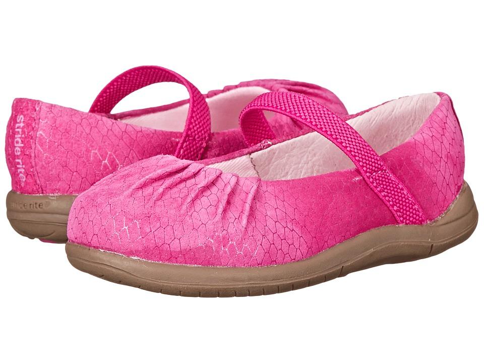 Stride Rite - SRT Cassie (Toddler) (Pink) Girls Shoes