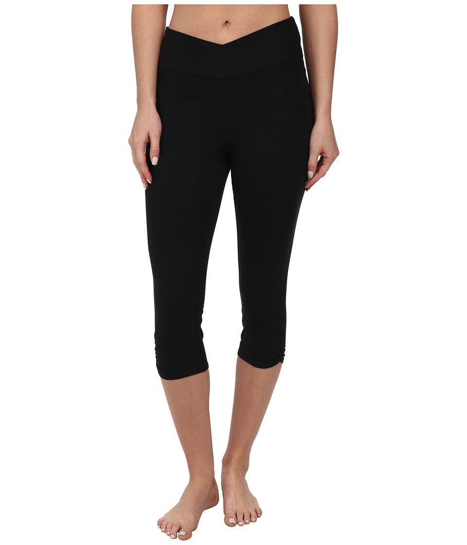 Yummie by Heather Thomson - Candace Capris (Black) Women's Capri