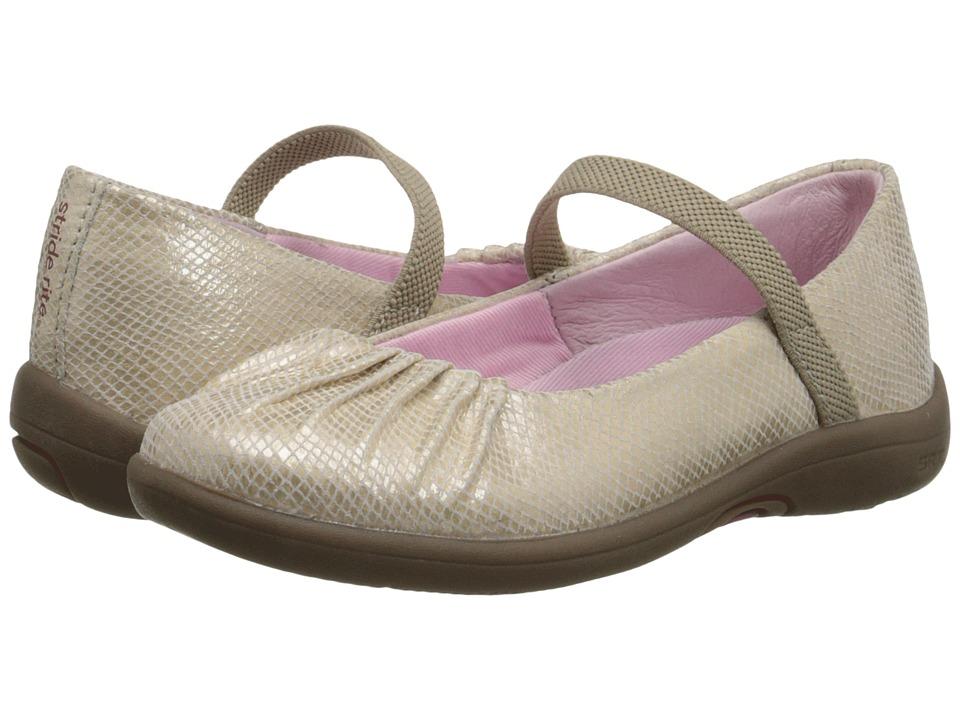 Stride Rite - SRT PS Cassie (Toddler/Little Kid) (Champagne) Girls Shoes