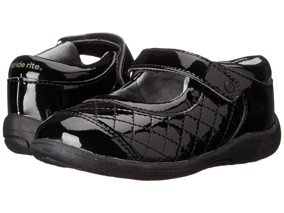 Stride Rite - SRT PS Regan (Toddler/Little Kid) (Black 1) Girl's Shoes