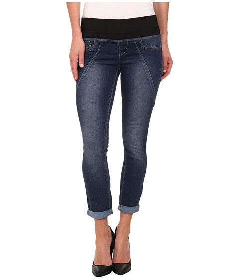 DKNY Jeans - Sculpted Leggings Rolled Crop in Conditioning Wash (Conditioning Wash) Women