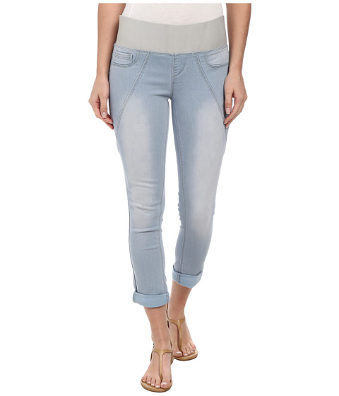 DKNY Jeans - Sculpted Leggings Rolled Crop in Toned Wash (Toned Wash) Women's Casual Pants